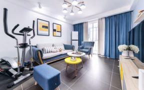 84平米北歐風格兩居室房子裝修效果圖