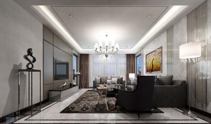 2018现代简约150平米效果图 2018现代简约四居室装修图