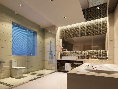 2018现代卫生间装修图片 2018现代洗漱台装饰设计