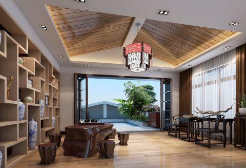 2018现代书房装修设计 2018现代吊顶装修设计