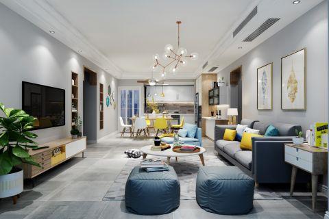 2019现代110平米u乐娱乐平台设计 2019现代套房设计图片