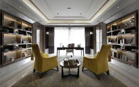 175平新古典风格三居室装修效果图