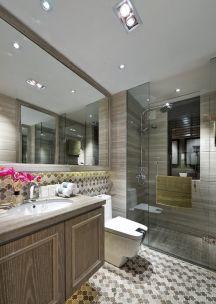 2019美式110平米装修设计 2019美式三居室装修设计图片