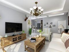 2019现代简约110平米装修设计 2019现代简约二居室装修设计