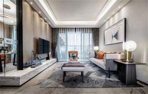 2018中式110平米装修设计 2018中式三居室装修设计图片