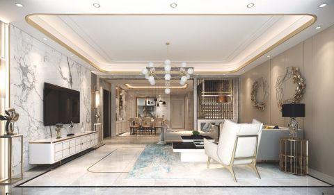 2019后现代300平米以上装修效果图片 2019后现代别墅装饰设计