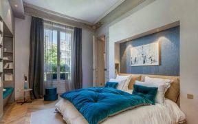 2019欧式卧室装修设计图片 2019欧式窗帘装修效果图片