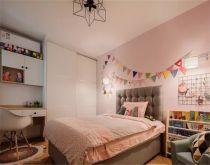 女生卧室粉色背景墙优乐娱乐官网欢迎您图片