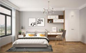2019新中式90平米装饰设计 2019新中式三居室装修设计图片