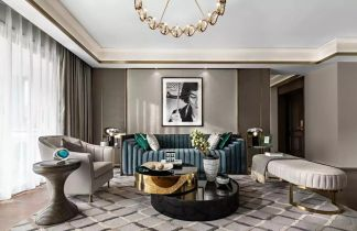 2019后现代90平米装饰设计 2019后现代二居室装修设计