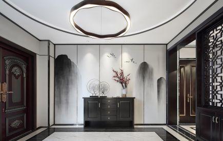 2019中式古典玄关图片 2019中式古典背景墙装饰设计
