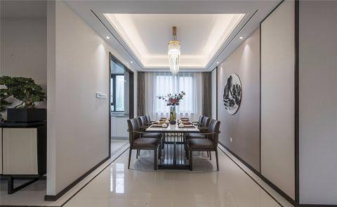 餐廳窗簾中式家裝設計