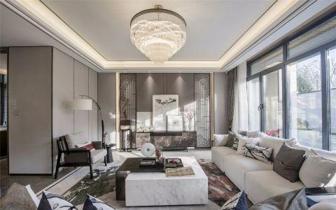 2019新中式240平米装修图片 2019新中式二居室装修设计
