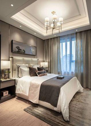 新中式卧室背景墙装饰设计