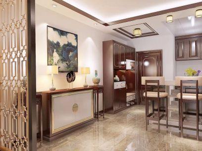 中式厨房地砖设计
