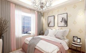 眩亮卧室现代简约装饰实景图