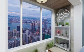 美式阳台吊顶家装设计