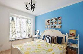 清新卧室地中海设计图片