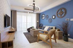 127平北欧风格两居室装修效果图