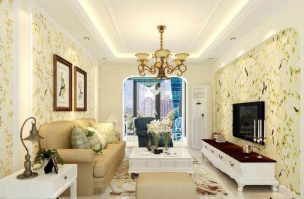 法式客厅照片墙室内装修图片