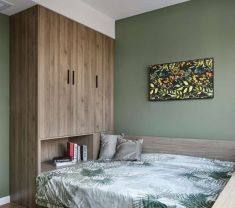 2019新中式110平米装修设计 2019新中式套房设计图片