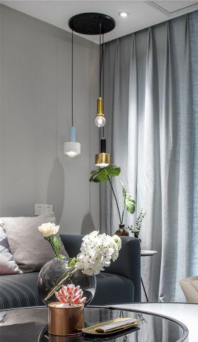休闲客厅北欧装饰实景图片