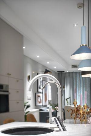 厨房灶台北欧装修图片