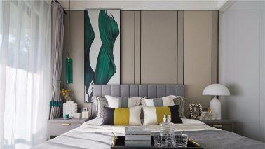 客厅沙发新中式装修图