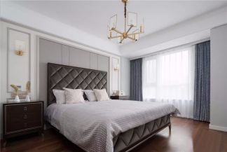 卧室细节美式家装设计图