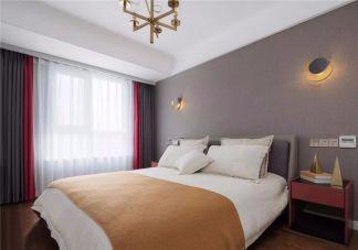 美式卧室细节实景图