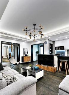 170平现代简约风格四居室装修案例