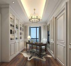 平层简欧风格三房装修效果图