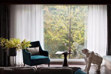 2019美式客厅装修设计 2019美式窗台设计图片
