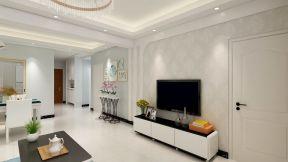 现代简约90平三室两厅u乐娱乐平台设计