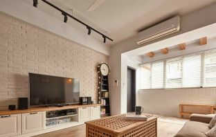 北欧100平米三房两厅设计