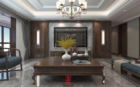 200平新中式4室2厅装修效果图