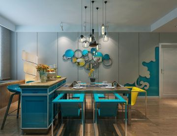 2019欧式90平米装饰设计 2019欧式二居室装修设计