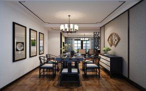 滨湖国际花都三房中式风格装修效果图
