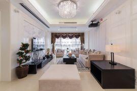 2019欧式110平米装修设计 2019欧式三居室装修设计图片