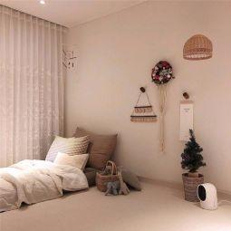 淡雅卧室日式家装设计图
