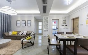 清新素丽餐厅北欧室内装修设计