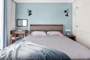 简约卧室窗帘室内装饰