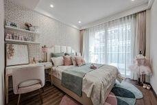 卧室细节美式构造图