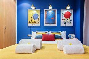 优雅卧室后现代效果图