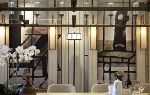 2019现代中式起居室装修设计 2019现代中式灯具图片