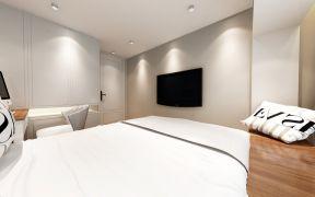 淡雅卧室背景墙装修效果图大全