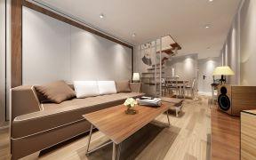客厅地砖日式室内效果图