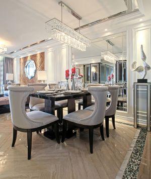 风雅白色背景墙室内装修设计