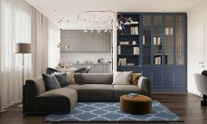 2019新古典90平米装饰设计 2019新古典套房设计图片