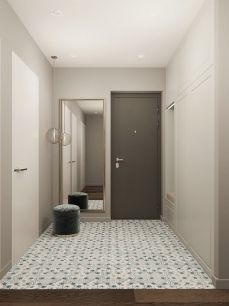 精雕细刻灰色玄关室内装饰